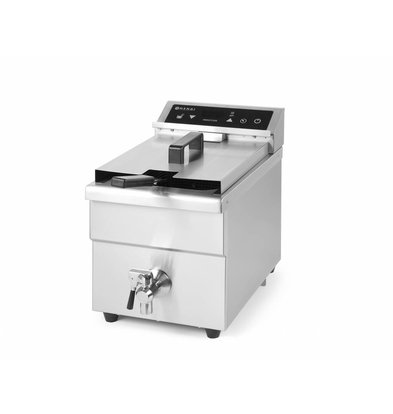 Hendi Induktionsfriteuse Kitchen Line | 8 Liter | 290x485x(h)406mm