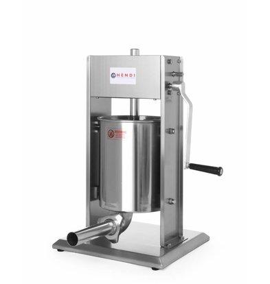 Hendi Wurstfüllmaschine Profi Line | 10 Liter