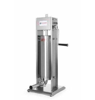 Hendi Wurstfüllmaschine Profi Line | 7 Liter