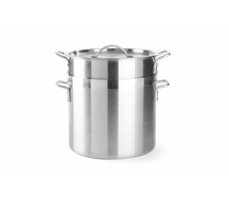 Hendi Aluminium Reiskochtopf mit Deckel | Erhältlich in 3 Größen
