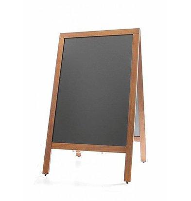 Hendi Kreidetafel mit Holzrahmen | 500x850mm