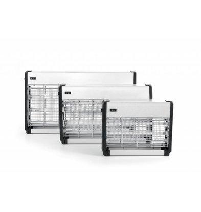 Hendi Insektenvernichter Aluminium | Bereich 150 m² | 640x90x(h)360mm