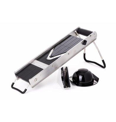 Hendi Mandoline V-Shape mit Doppelklinge | Inkl. 2 Messer