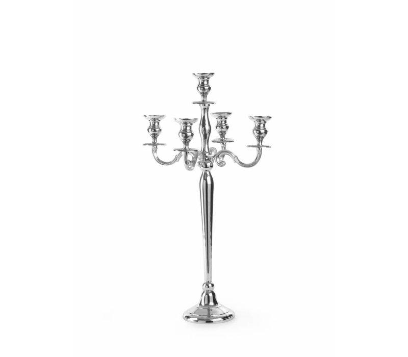 Hendi Aluminium Kerzenständer 5-Armig | Höhe 540mm