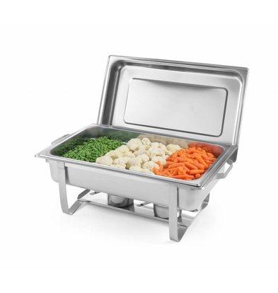 Hendi Chafing Dish GN1/1 | 9 Liter | 620x350x(h)310mm | XXL ANGEBOT