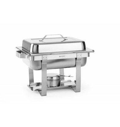 Hendi Chafing Dish GN1/2 | 4,5 Liter | 385x295x(h)310mm