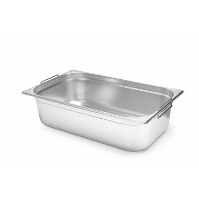 Hendi Gastronorm Behälter 1/1GN | Mit Griffen | Erhältlich in 2 Tiefen