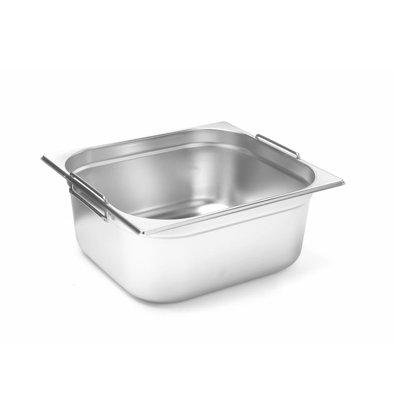 Hendi Gastronorm Behälter 2/3GN | Mit Griffen | Erhältlich in 2 Tiefen