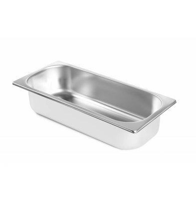 Hendi Eiscremebehälter 6,5 Liter |  360x165x(h)150mm