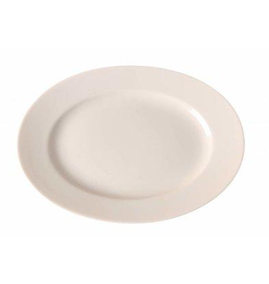 Hendi Schale Oval Gourmet | Porzellan Elfenbein | Erhältlich in 3 Größen