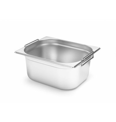 Hendi Gastronorm Behälter 1/2GN | Mit Griffen | Erhältlich in 2 Tiefen