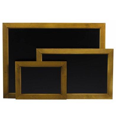 Hendi Wandkreidetafel mit Holzrahmen | 400x600mm