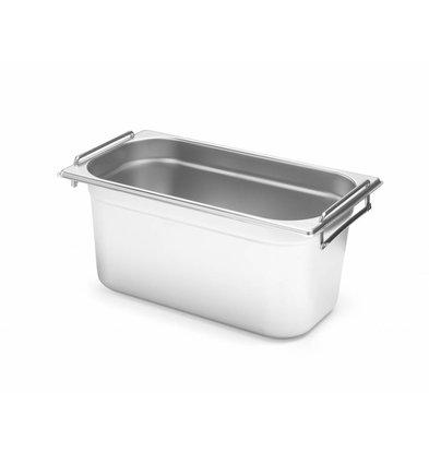 Hendi Gastronorm Behälter 1/3GN | Mit Griffen | Erhältlich in 2 Tiefen
