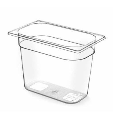 Hendi Gastronorm Behälter 1/4 | Tritan BPA frei | Erhältlich in 4 Tiefen