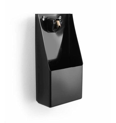 Hendi Flaschenöffner mit Auffangbehälter | Inkl. Montagematerial