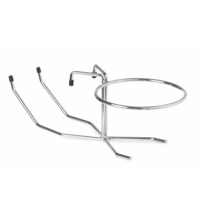 Hendi Tischhalterung für Weinkühler | Ring ø185mm | Geeignet für HE593103