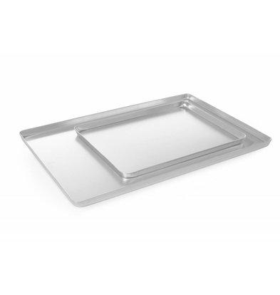 Hendi Auslageplatte Aluminium | Silberfarbig | 600x400x(h)20mm