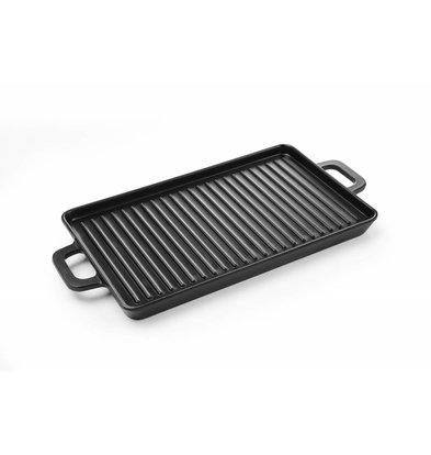 Hendi Mini Grillplatte Melamin | 320x162x(h)20mm