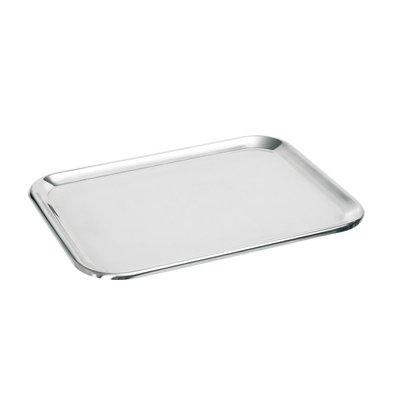 Hendi Auslageplatte Chromstahl | 310x230mm