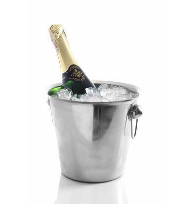 Hendi Weinkühler mit Ringgriffen | 3,3 Liter | Ø220x(h)190mm