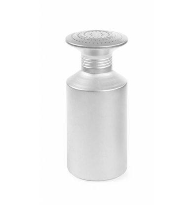 Hendi Salzstreuer mit Schraubedeckel | Aluminium | Ø80x(h)175mm