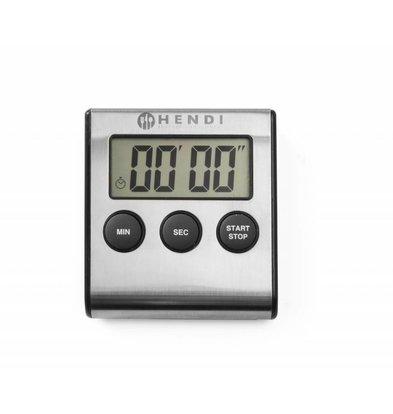 Hendi Digitaler Küchenwecker | Ständer und Magnet | 65x70x(h)17mm