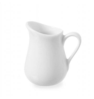 Hendi Milchkanne 80ml | Porzellan Weiß | 2 Stück