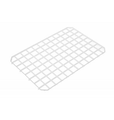 Hendi Koppelbare Abtropfmatte Kunststoff | 313x209mm | 5 Stück