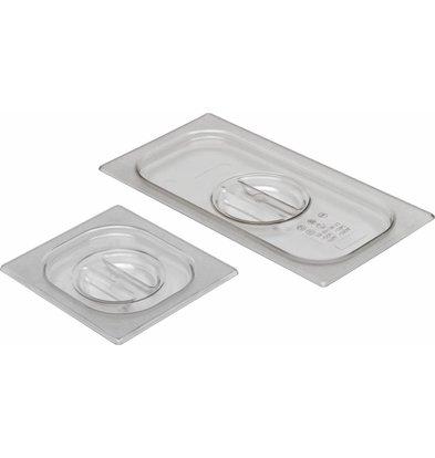Hendi Gastronorm-Deckel 1/2 | Polycarbonat