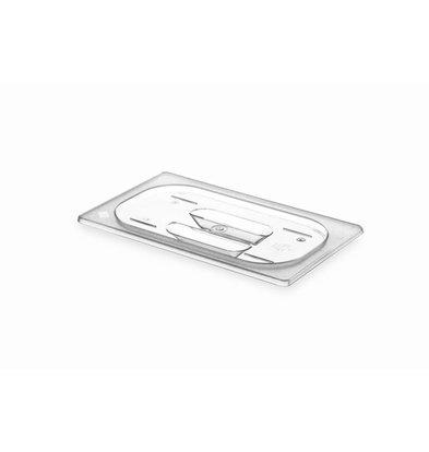 Hendi Gastronorm-Deckel 1/4 | Tritan BPA Frei