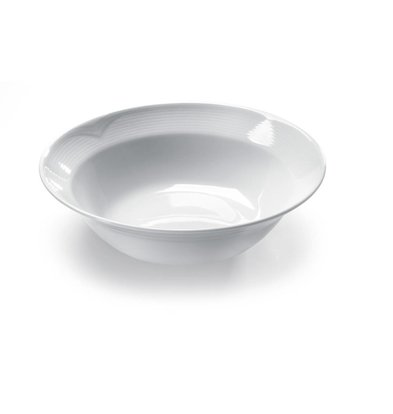 Hendi Salatschüssel Saturn | Porzellan Weiß | Erhältlich in 3 Größen