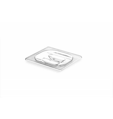 Hendi Gastronorm-Deckel 1/6 | Tritan BPA Frei