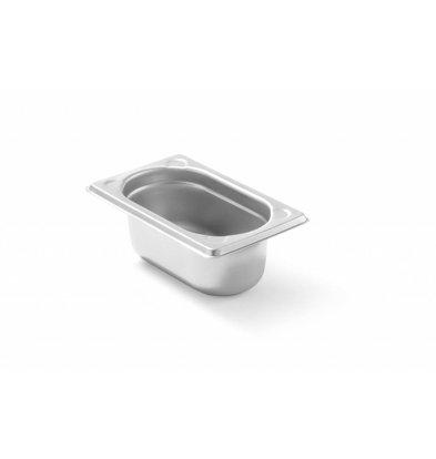 Hendi Gastronorm Behälter 1/9GN | Erhältlich in 2 Tiefen