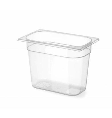 Hendi GN Behälter 1/4 | Polypropylen | Erhältlich in 3 Tiefen