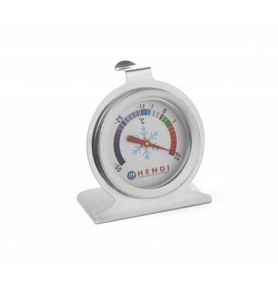 Hendi Kühlschrankthermometer Ø60x(h)70mm | Messbreich -50 °C bis +25 °C