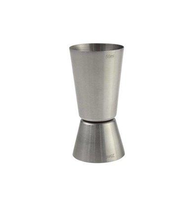 Hendi Barmaß Edelstahl 2,5 + 5 cl | ø40x(h)85mm