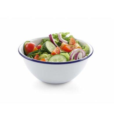 Hendi Salat Schüssel | Emailliertes Geschirr | Ø160mm