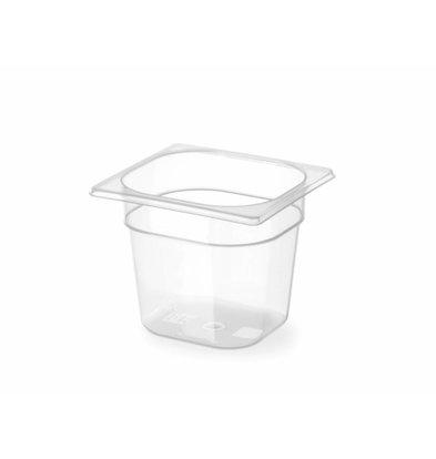 Hendi GN Behälter 1/6 | Polypropylen | Erhältlich in 3 Tiefen