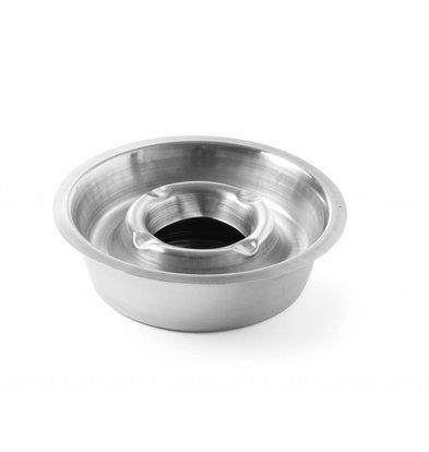 Hendi Aschenbecher mit Behälter | 140x140mm