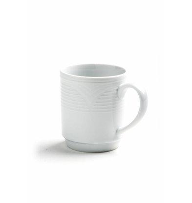 Hendi Kaffeebecher Saturn 300ml | Porzellan Weiß
