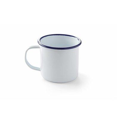 Hendi Tasse mit Henkel | Emailliertes Geschirr | Ø90x80mm