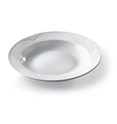 Hendi Suppen- Pastateller Saturn | Porzellan Weiß | Ø220mm