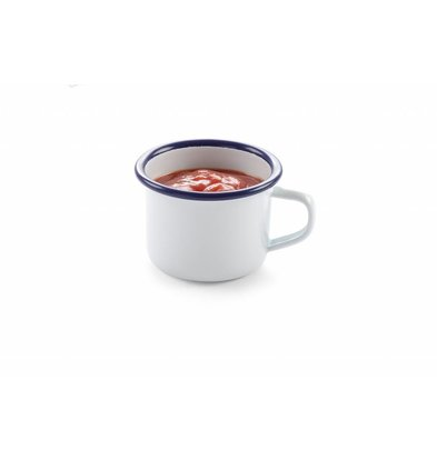 Hendi Tasse mit Henkel | Emailliertes Geschirr | Ø70x50mm