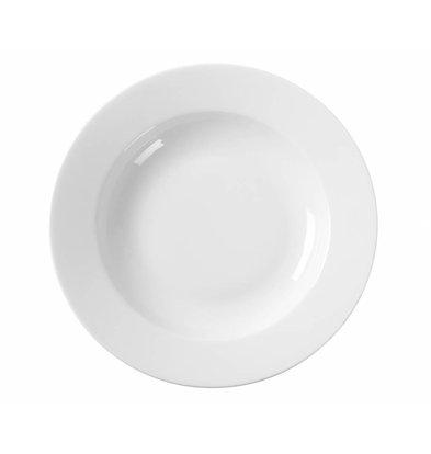 Hendi Suppenteller Delta ø230mm | Porzellan Weiß