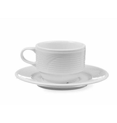 Hendi Mokkatasse Saturn | Porzellan Weiß | 90ml