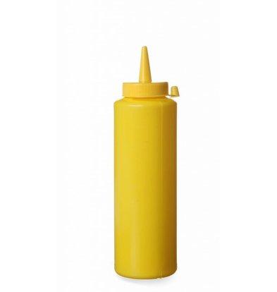 Hendi Spenderflasche mit PP Verschlusskappe | Gelb | Erhältlich in 3 Größen
