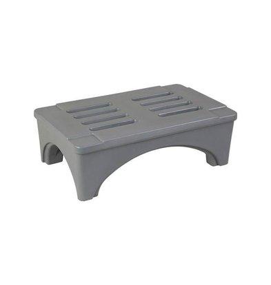 XXLselect Ablage Stufe /Dunnage Rack | 91x56x30cm | Grau