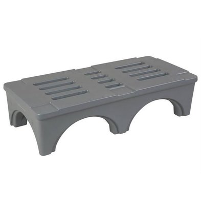 XXLselect Ablage Stufe /Dunnage Rack | 121x56x30cm | Grau