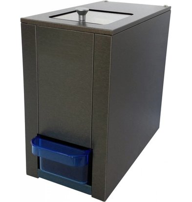XXLselect Eiscrusher 180kg/St | Vorratsbehälter 1 kg | HEAVY DUTY | 175x330x(h)315mm