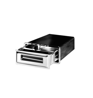 Ronda Sudschublade Edelstahl | Einbau Modell | 377x401x164mm